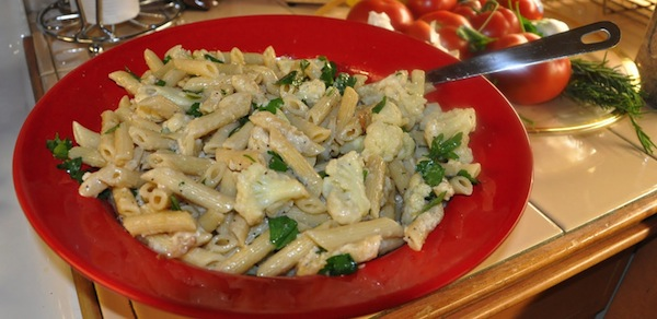 Cauliflower and Penne