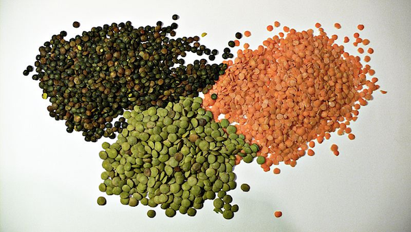 lentils used for soup
